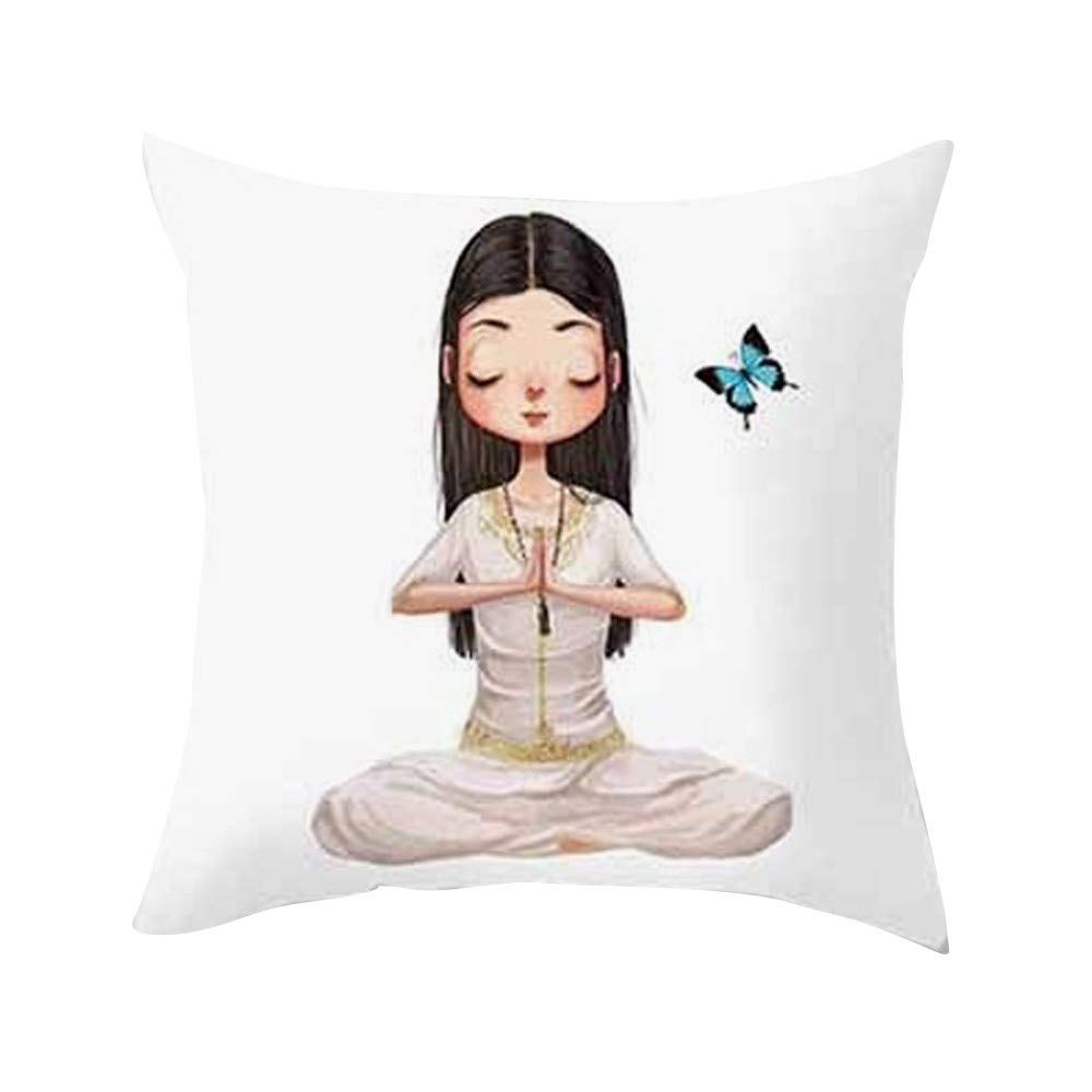 Cocal Yoga Meditation Pillowcase, Special Cushion Cover ...