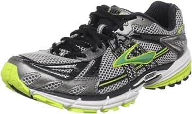 Brooks Men's Ravenna 2 Running Shoe,Metallic Pavement/Black/Lime/Punch/Metallic Green,15 D(M) US