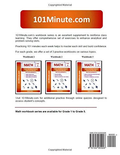 101Minute.com Grade 2 Math PRACTICE WORKBOOK 3:Addition and ...