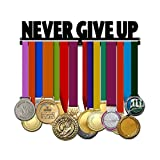 Never Give Up - Motivational Medal Hanger