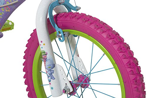 c3ce5247d62 Dynacraft Trolls Girls BMX Street Dirt Bike with Hand Brake 16 ...