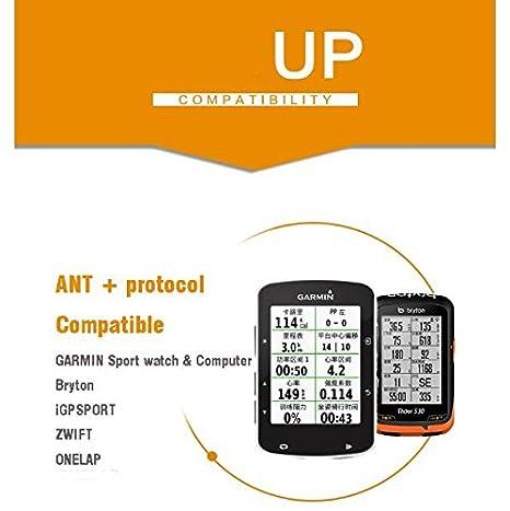 Amazon com : Magene Dual Mode Bluetooth & ANT+ Heart Rate Monitor
