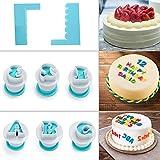 FANGSUN Alphabet & Numbers Fondant Cake