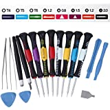 16-piece Precision Screwdriver Set Repair Tool Kit for iPad, iPhone, & Other Devices