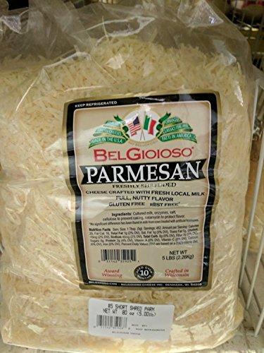Belgioioso Freshly Shredded Parmesan Cheese 5 Lb