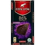 Cote D'or 克特多金象 86%可可黑巧克力--排装100g(比利时进口)
