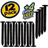 Window Shutters Panel Peg Loks 3 inch 12 pack ( Black ) Buy One Bag of 12 Loks and Get 4 Extra Shutter Peg Loks FREE