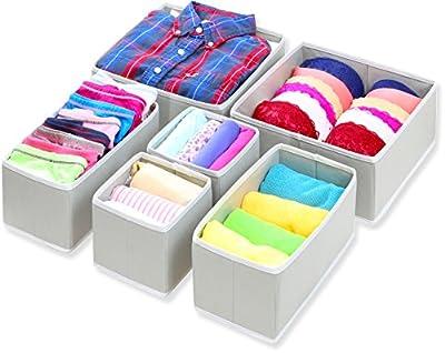 Closet Underwear Organizer Drawer Divider 4 Set