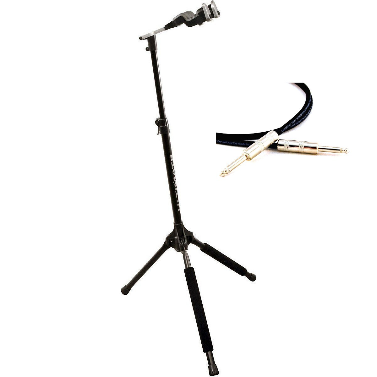 Ultimate Support GS-1000 PRO with 10 ft Conquest Instrument Lifetime Cable