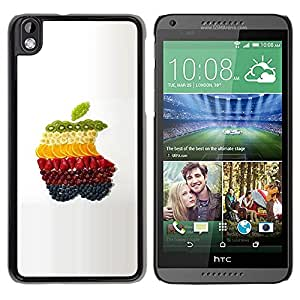 Slim Protector Shell Hard Case Cover for HTC DESIRE 816 Fruit Macro Apple Fruits / STRONG