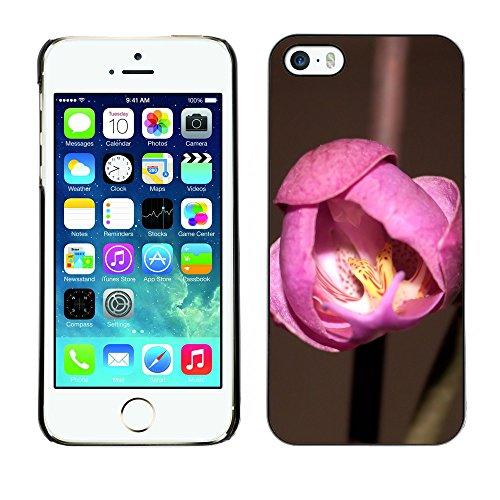 Premio Sottile Slim Cassa Custodia Case Cover Shell // F00017786 Fleur // Apple iPhone 5 5S 5G