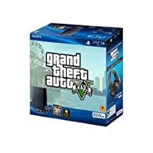 Sony Computer Entertainment PS3 500GB GTA: V Hardware Bundle