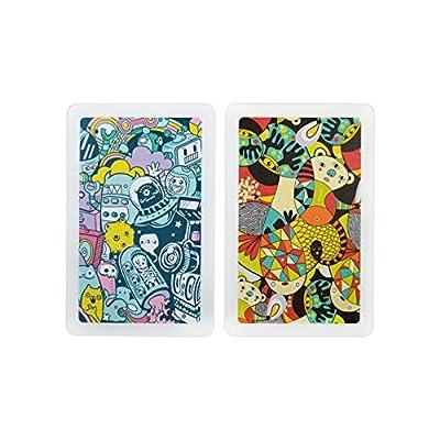 Copag Neo Nonsense 100% Plastic Playing Cards, Bridge Size, Jumbo Index: Sports & Outdoors