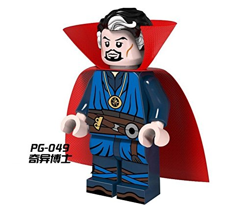 Shalleen Hot 10 PCS Lot Set Dr Strange Figures Super Hero Lot Building Blocks Bricks Toys