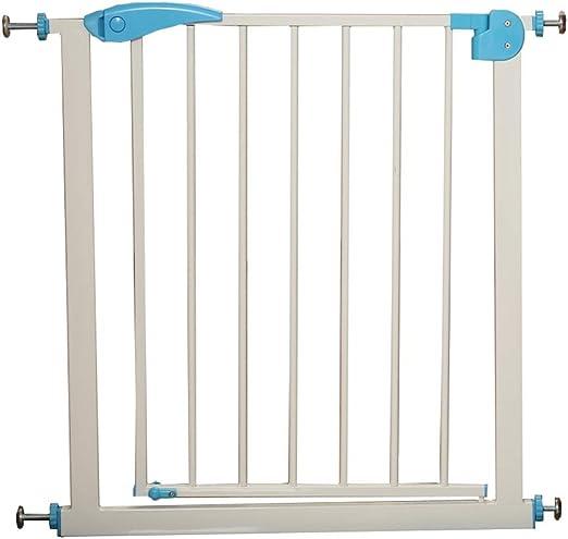 LIZIWL Barreras para Puertas y escaleras Seguridad Puerta Corte Libre Escalera Valla 76cm Alto Puerta for Mascotas Aislamiento (Size : 65-72cm): Amazon.es: Hogar
