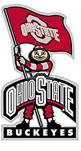 Amazon Com 9 Inch Brutus Osu Ohio State University Buckeyes Removable Wall Decal