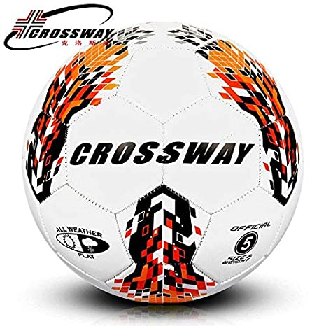 HATCHMATIC Crossway Brand Official Size 5 Football Ball PU Granule  Slip-Resistant Football Training Professional 7e9235416