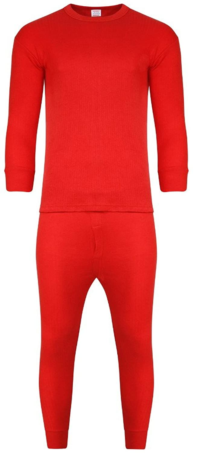 Herren Thermo-Unterwäsche Set Lange Ärmel Weste & Long John Baselayer