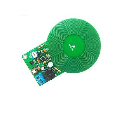 10 UNIDS/Lote DIY Kit de Detector de Metales Kit Electrónico DC 3 V-