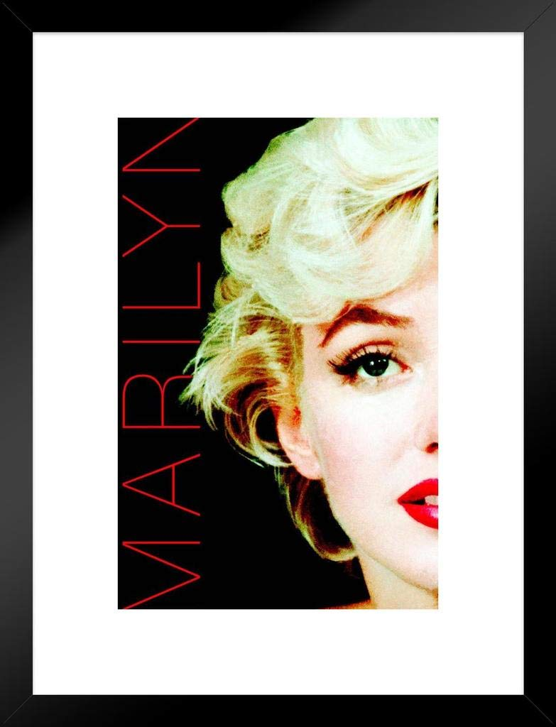 Marilyn Monroe Deco Filter Movie Matted Framed Poster 20x26 inch
