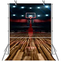 FUERMOR Photo Background 5X7FT Customized High-End Basketball Court Photography Backdrop Props M159
