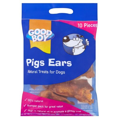 Good Boy Pigs Ears 5 x 10 Pieces 200g