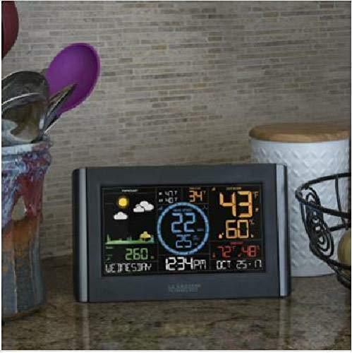 La Crosse Technology V22-WRTH-INT Professional Weather Station Black/Silver