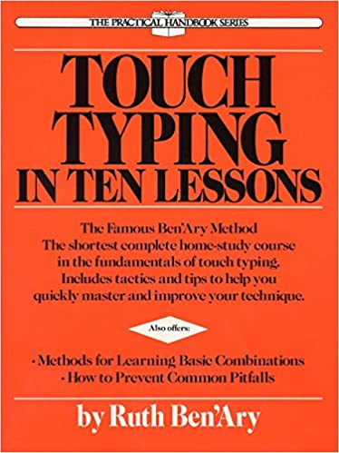 Typing Lessons Book