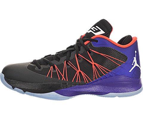 Nike Jordan Men's Jordan CP3.VII AE Black/Wht/Drk Cncrd/I...