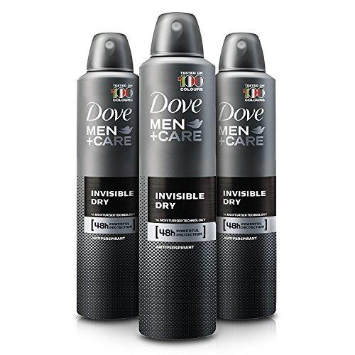 Dove Men Care Invisible Dry Spray Deodorant (3.8 oz, 3 pk.) (Mens Discount Body Care)