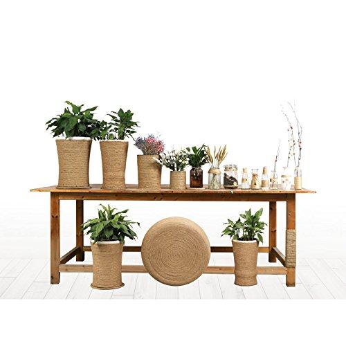 92M Natural Yute Twine regalos jard/ín y Reciclaje,Marr/ón decoraci/ón artesan/ía arte DIY 2MM C/á/ñamo Cuerda,Con Floristas