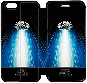 6 4.7 Inch Cover,[Pu Leather Cover] Star Wars Theme New iPhone 6 4.7 Inch Case Cover KS7464