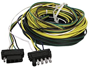 51o7qt2E%2B3L._SX300_ amazon com 5 way trailer wiring harness 25', manufacturer