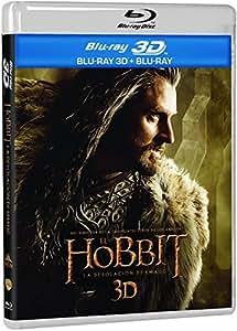 El Hobbit: La Desolación De Smaug (BD 3D + BD 2D + Copia Digital) [Blu-ray]