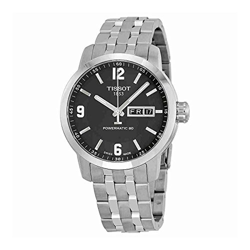 Tissot Men's T0554301105700 PRC 200 Analog Display Swiss Automatic Silver Watch
