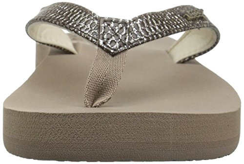 Star Reef Sassy Women's Cushion Brown Taupe Sandal x05TqZz56w