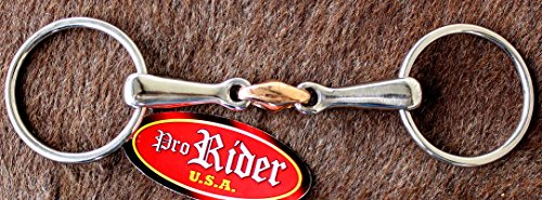 Tackmaster Horse SS German Copper Loose Ring Snaffle 5