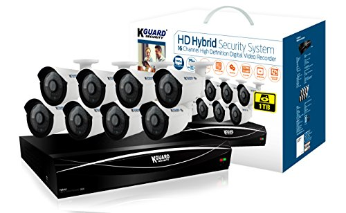 Kguard Full HD Hybrid Series 16 Channel HD1681-8WA713A-1TB with