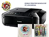 Edible Printer Bundle- Brand New Canon All-in-One Printer with Edible Paper and Inks - Best Reviews Guide