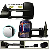 Spead-Vmall DOT Approved Pair Power Heated Tow Mirrors Rear View Side Mirrors Driving Towing Mirrors For 1999 2000 2001 2002 Chevrolet Chevy Silverado 1500 2500 3500 GMC Sierra Pickup Truck
