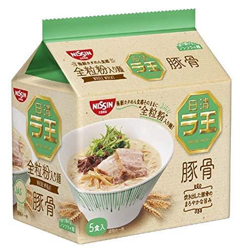 New-Nissin - Raoh, Japanese Instant Ramen Noodles, Pork Bone Soup, 14.8oz (for 5 Servings)[Japan ()