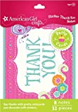 American Girl Crafts Thank-You Notes, Health Care Stuffs