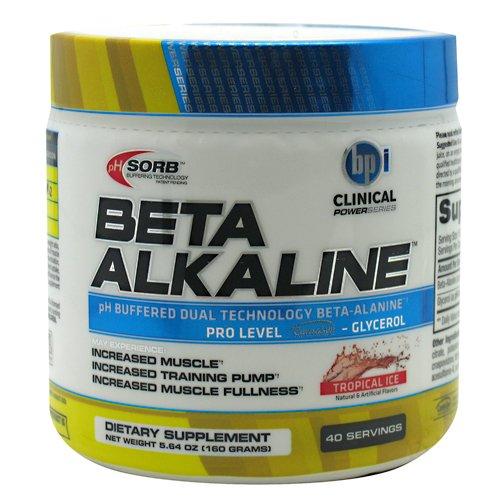 Supplément BPI Sport Beta alcaline à base de plantes minérale, Ice Tropical, 5,64 once