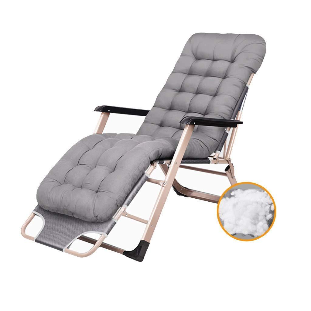 折りたたみベッドデッキチェアラウンジャーキャンプベッド寝室リビングルームオフィス仮眠椅子ポータブル旅行リクライニングチェア家庭用多機能折りたたみベッド B07S9ZJ3YN