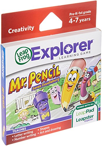LeapFrog Mr. Pencil Saves Doodleburg Learning Game (works with LeapPad Tablets and LeapsterGS) (Module Game)