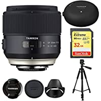 Tamron 35mm SP F/1.8 Di VC Vibration Compensation AutoFocus Ultra Silent Drive (model F013) For NIKON With BONUS Tamron Tap-In Console, Lexar 32GB 1000x SD Card and More ADDITIONAL $50 MAIL IN REBATE