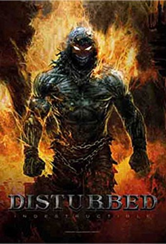 Disturbed Indestructible new Official Textile Poster