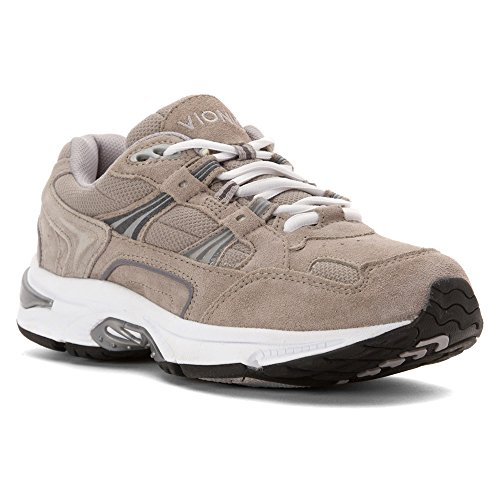 Vionic Mens Orthaheel Technology Gray Walker - 12 2e Noi