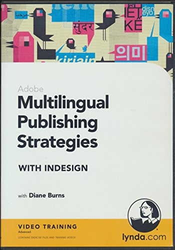 Adobe Multilingual Publishing Strategies with InDesign by Diane Burns Video Training (2012 DVD-Rom) (Indesign Training)