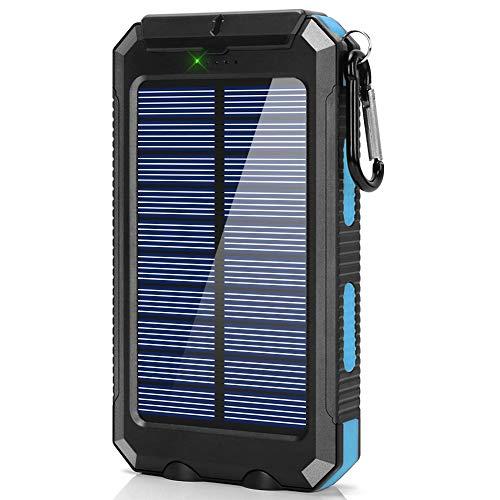 Ayyie Solar Charger,10000mAh Solar Power Bank Portable Exter